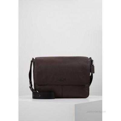 Coach METROPOLITAN SOFT COURIER CEW - Across body bag - qb/oak/brown