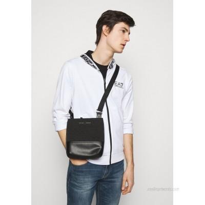 Emporio Armani MESSENGER BAG UNISEX - Across body bag - black