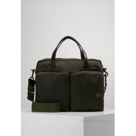 Filson DRYDEN BRIEFCASE UNISEX - Briefcase - ottergreen/khaki