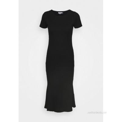 Good American MIDI DRESS Shift dress black