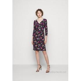 Lauren Ralph Lauren PRINTED MATTE DRESS Jersey dress lighthouse navy/dark blue