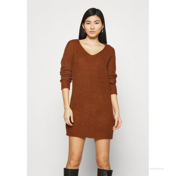 Anna Field Jumper dress brown