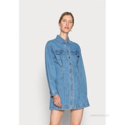 CMEO COLLECTIVE CONDITIONAL DRESS Denim dress blue denim